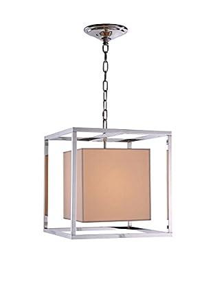 Urban Lights Quincy 1-Light Pendant Lamp, Polished Nickel