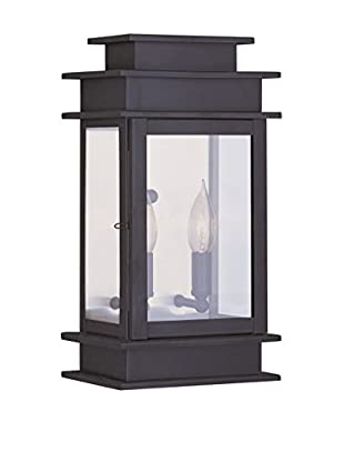 Crestwood Amelia 1-Light Wall Lantern, Bronze