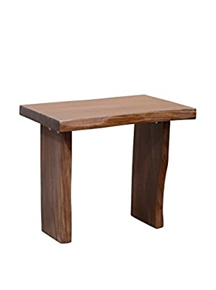 Tottenham Court Carson End Table, Log Finish
