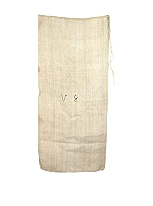 Uptown Down Eastern European Vintage Seed Bag, Tan