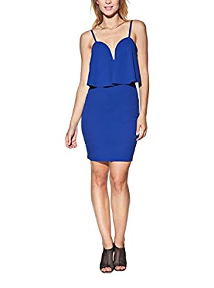 Candy Kleid Tight Mini With Strapless Neckline, Layered And Panels