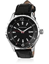 Giordano Analog Black Dial Men's Watch - 1581-01