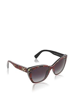 Dolce & Gabbana Gafas de Sol 4216 29388G (55 mm) Rojo / Negro