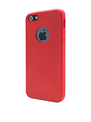 UNOTEC Hülle Second Skin iPhone 5/5S/Se rot