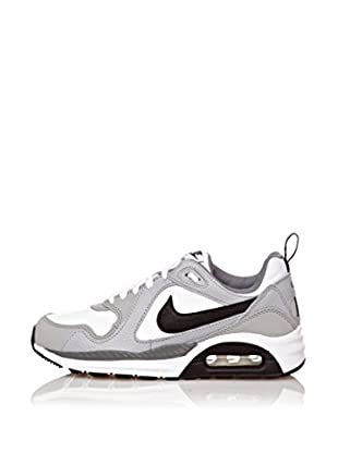 Nike Zapatillas Air Max Trax (Gs) (Blanco / Gris / Negro)