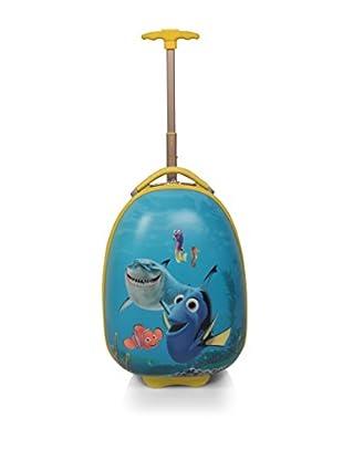 JOHN TRAVEL Hartschalen Trolley Infantil Nemo blau 41.5 cm
