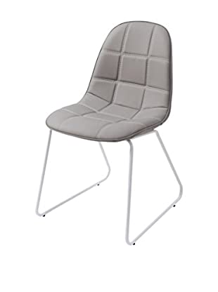 Special tables & Chairs Set Silla 4 Uds. Adele Gris