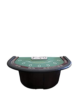 Deluxe Blackjack Table with Pedestal Legs