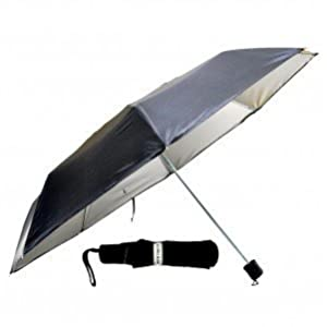 K.C.Paul & Sons Three Fold umbrella for Men and Women For All Weather (BLACK (ONLY FOR MEN))