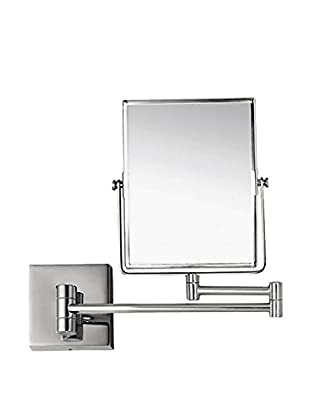 Nameeks Double Face 3X Wall Mounted Makeup Mirror, Chrome Finish
