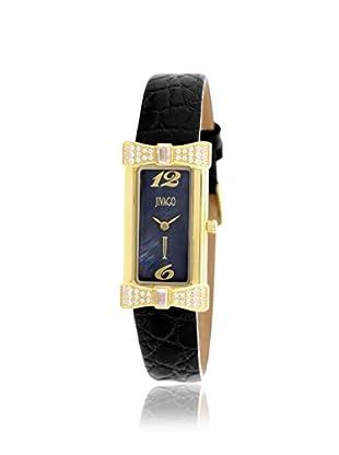 Jivago Women's JV1415 Charmante Black/MOP Stainless Steel Watch