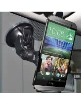 Amzer Suction Cup Mount for Windshield, Dash or Console for HTC One M8 - Retail Packaging - Black