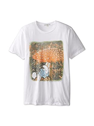 Junk Food Men's Smurfs Mushroom T-Shirt
