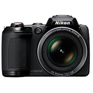 Nikon Coolpix L310 Digital Camera-Black