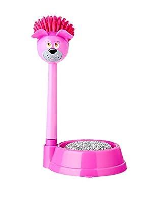 VIGAR Kit de Limpieza 3 Piezas Vincent´S Pet Dog Rosa
