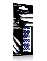 Maybelline Limited Edition Color Show Fashion Prints Nail Stickers - 60 Sapphire Jewels