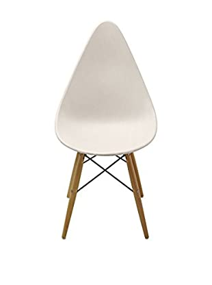 Lo+Demoda Stuhl 2er Set Wooden Piko weiß