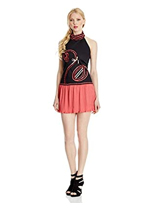 Divina Providencia Kleid Flamingo