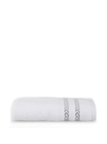 Lenox Pearl Essence Washcloth (White/Smoke)