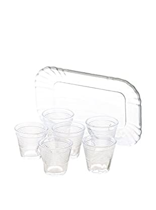 Kaleidos Espresso 7 tlg. Set transparent
