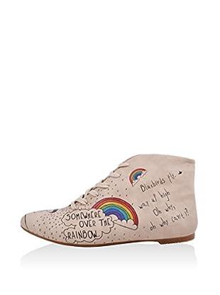 DOGO Zapatillas abotinadas Over The Rainbow
