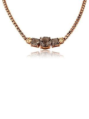 Dyrberg/Kern Halskette Dorelia Rg Grey roségold/grau