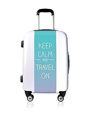 Magellan Hartschalen Trolley Keep Calm And Travel On   55  cm