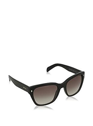 Prada Gafas de Sol 09SS (54 mm) Negro Talla Única (talla Del Fabricante: One Size)