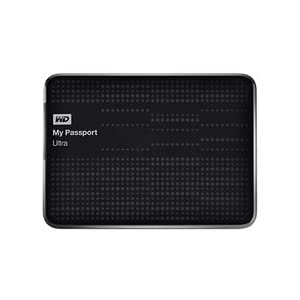 WD My Passport Ultra 2TB Portable External USB 3.0 Hard Drive with Auto Backup - Black