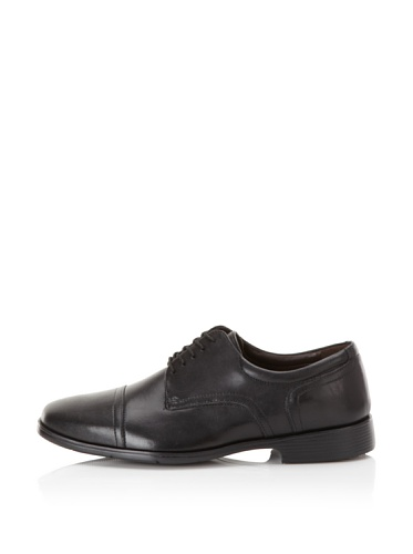 Florsheim Men's Garrick Cap-Toe Oxford (Black)