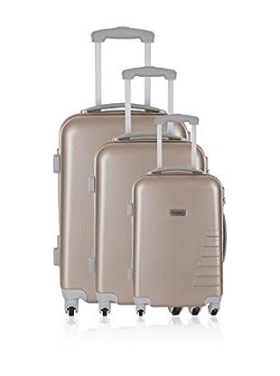 Travel One Set de 3 trolleys rígidos Batley