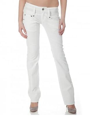 Herrlicher Jeans Pitch Denim Stretch Regular Fit (Weiß)