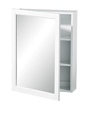 Premier Housewares Spiegelschrank 2402059 weiß