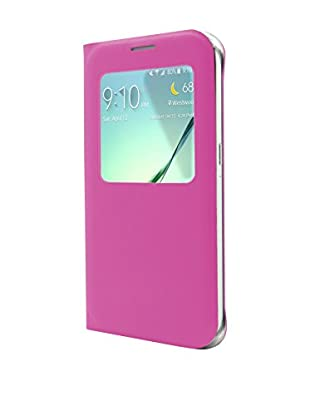 Unotec Funda Flip-S Samsung Galaxy S6 Rosa