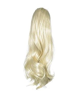 Love Hair Extensions Victorian Pferdeschwanz - Befestigung mit Krokodilklemme - Hochwertiges Kunsthaar - Farbe 613 - Cremeblond, 1er Pack (1 x 1 Stück)