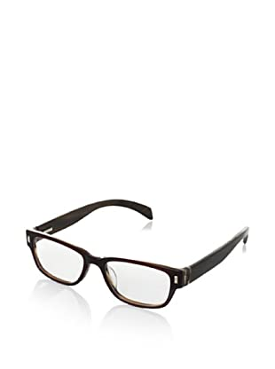 Ivory + Mason Women's Olympic Eyeglasses, Brown/Walnut