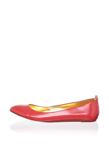 Ted Baker Women's Carum Ballerina Flat (Dark Orange)