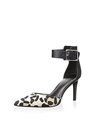 Calvin Klein Women's Benita Pump (Bone/Ash/Black)