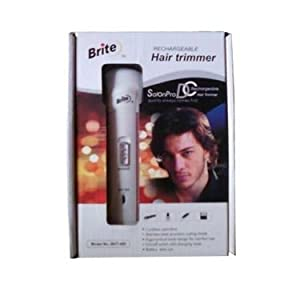 Branded Brite Rechargeable Hair Trimmer