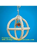 KSK Tripal Rope Circul Swing For Bird