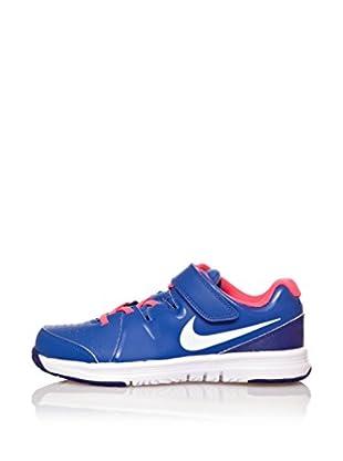 Nike Zapatillas Vapor Court (Psv) (Azul / Rosa / Blanco)