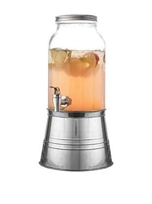 Jay Imports Newport 6 Piece Beverage Dispenser Set, Clear