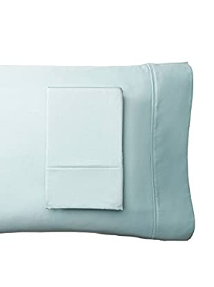 Westport Linens Set of 2 Wrinkle Free Standard Pillowcases, Blue