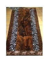 Luxury Oversized Beach Towels safari 100 Egyptian Cotton