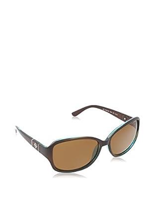 Polaroid Sonnenbrille Polarized P8418 (59 mm) braun/grün