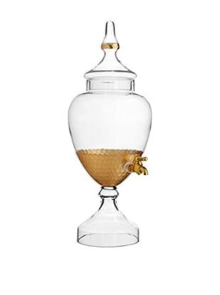 Jay Imports Daphne Gold Beverage Dispenser, 128-Oz.