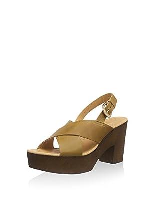 VERO MODA Zuecos Vmflica Leather Sandal