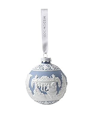 Wedgwood The Night Before Christmas Ornament, Blue