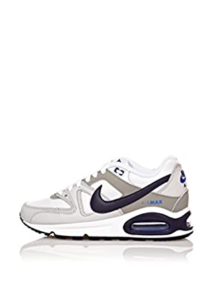 Nike Zapatillas Air Max Command (Gs) (Blanco / Azul Marino)