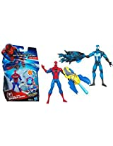 Funskool Spiderman Mission Spidey Action Figure (Color and Design May Vary)